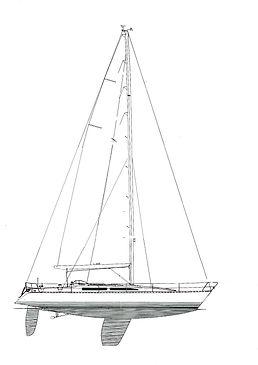 X yacht X-452 Sailboat san blas