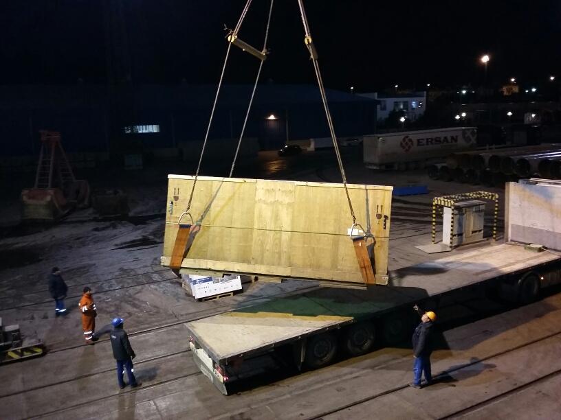 re-loading in Baku-port