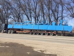 crane from China to Aktau  via Khorgos