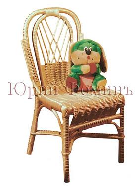 плетеный детский стульчик