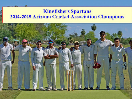 Spartans win the Knock-Out Trophy!!