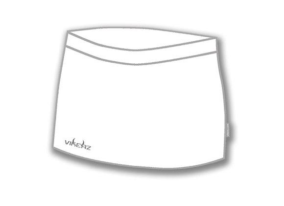 White Vikerz Ladies Skorts