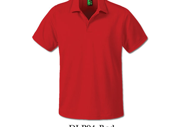 Red Unisex Dri-Fit Polo