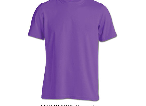 Purple Unisex Dri-Fit Round Neck