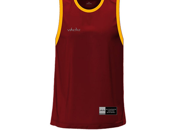 VBB2B06 - Maroon/Yellow Jerseys