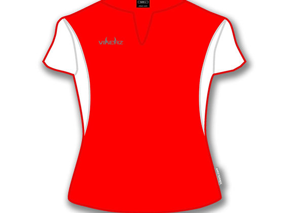 Ladies Vikerz Red/White