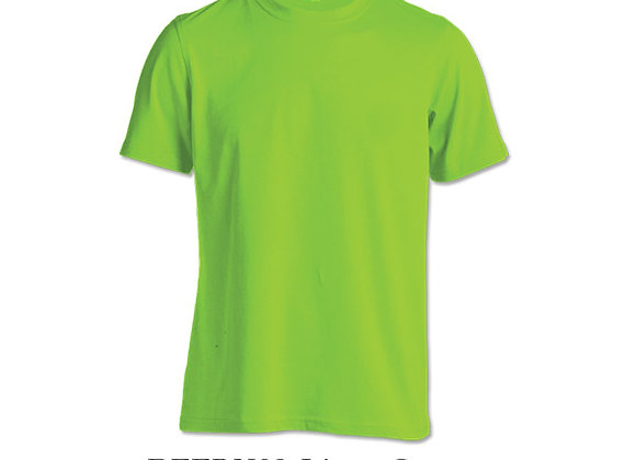 Lime Green Unisex Dri-Fit Round Neck