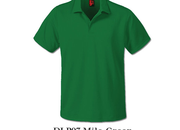 Milo Green Unisex Dri-Fit Polo