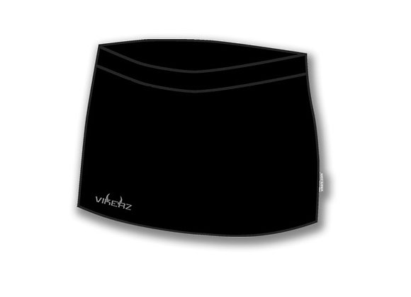 Black Vikerz Ladies Skorts