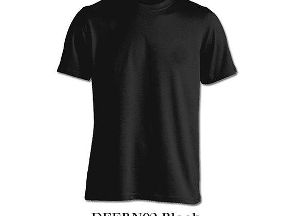 Black Unisex Dri-Fit Round Neck