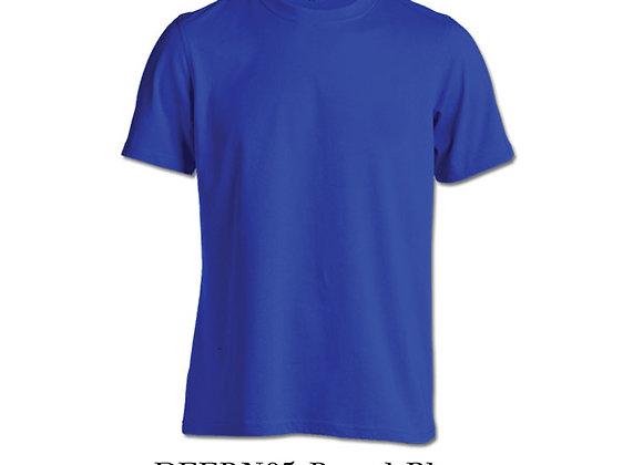 Royal Blue Unisex Dri-Fit Round Neck