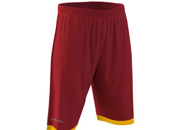 VBB2B06 - Maroon/Yellow Shorts