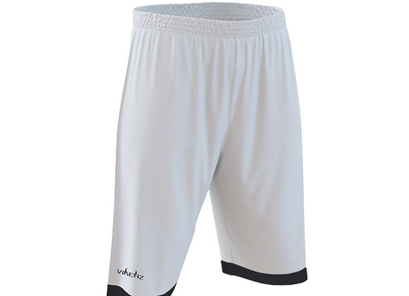 VBB2B01 - White/Black Shorts