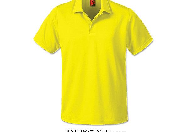 Yellow Unisex Dri-Fit Polo