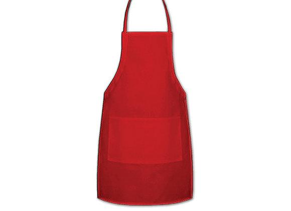 Red Full Apron