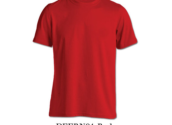 Red Unisex Dri-Fit Round Neck