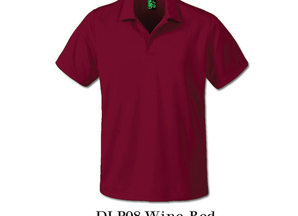 Maroon Unisex Dri-Fit Polo