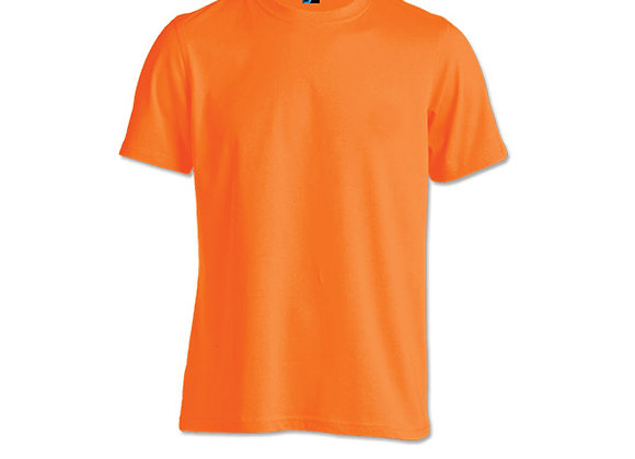 Orange Unisex Dri-Fit Round Neck