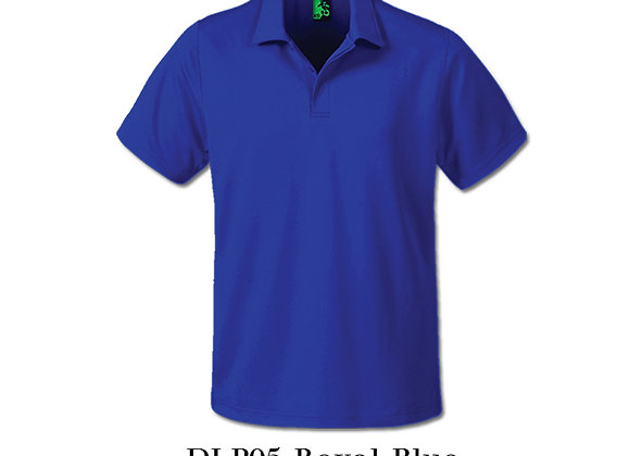 Royal Blue Unisex Dri-Fit Polo