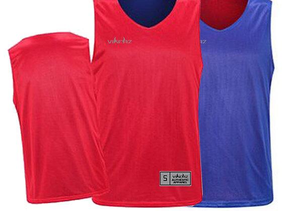 VBR08 Red/Royal Vikerz Basketball Reversible Jerseys & Shorts