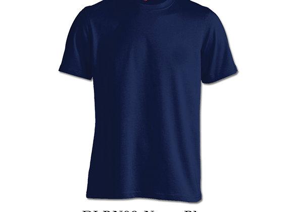 Navy Blue Unisex Dri-Fit Round Neck