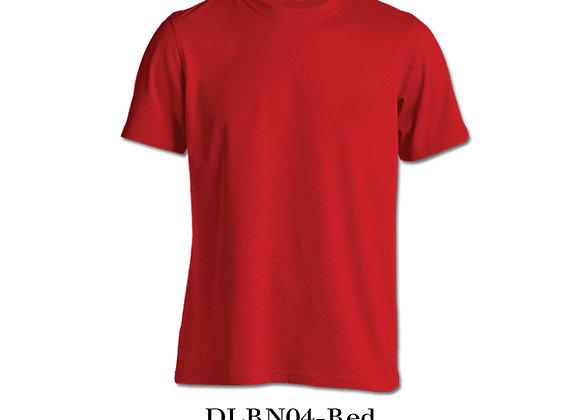 Red Unisex Dri-Fit Round Neck