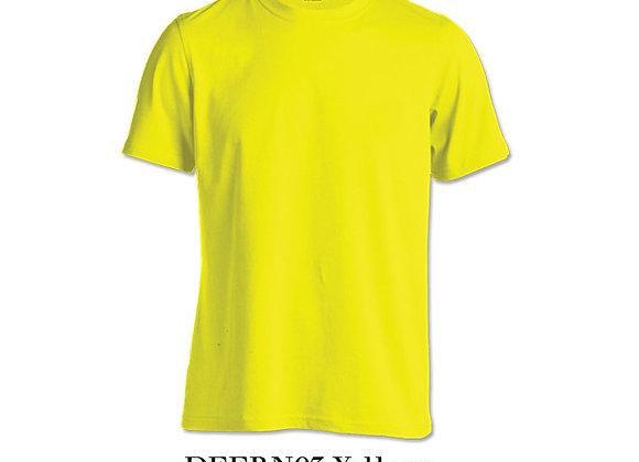 Yellow Unisex Dri-Fit Round Neck