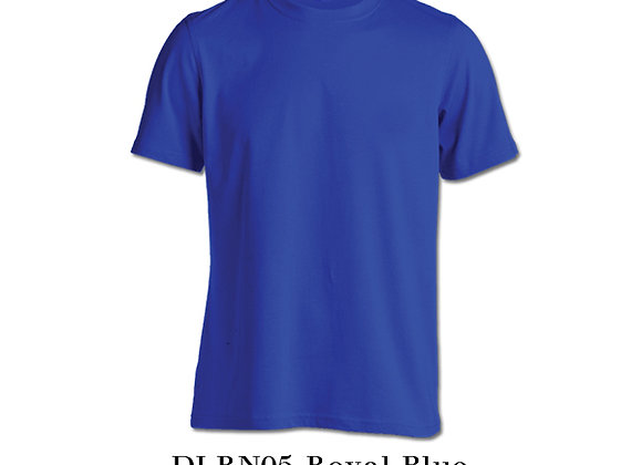 Royal Blue Unisex Dri-Fit Round Neck