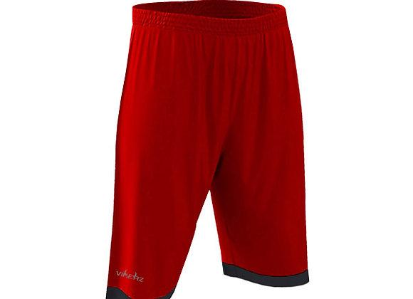 VBB2B03 - Red/Black Shorts