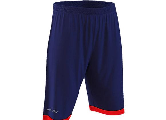 VBB2B07 - Navy Blue/Red Shorts