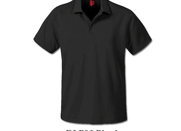 Black Unisex Dri-Fit Polo