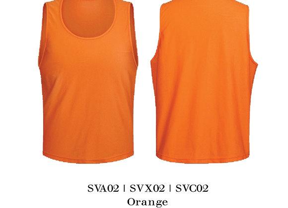 Orange Sports Vest Unisex