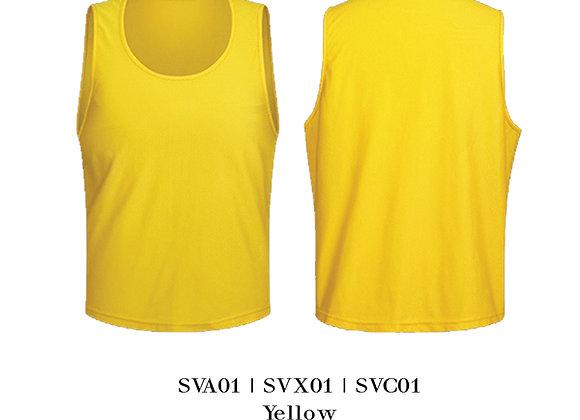 Yellow Sports Vest Unisex