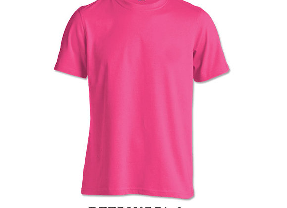 Pink Unisex Dri-Fit Round Neck
