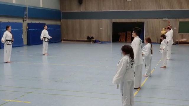 SV Taekwon Do Abteilung startet mit erstem Training nach der langen Zwangspause.