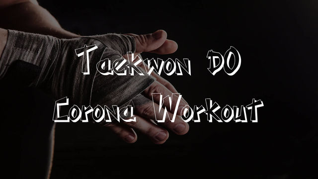Taekwon-Do Corona Workout beim SV Wetzlar-Niedergirmes