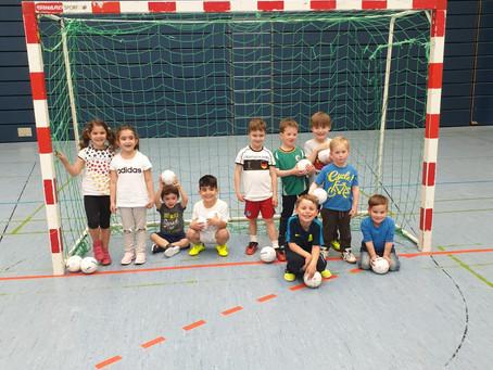 """""""Voller Erfolg unseres neuen Handball Kindergartens und MINIS"""""""