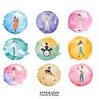 ffm-federation-francaise-musique-bulles-musiciens-artistes-illustration-couleur