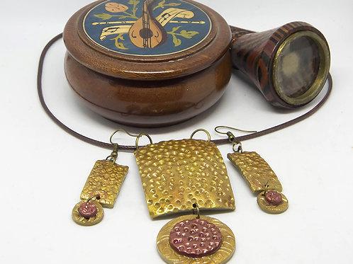 Gold & Copper Set