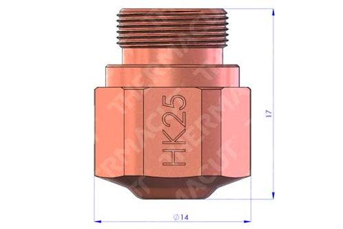 HK 25 Düse Durchmesser 2.5 mm