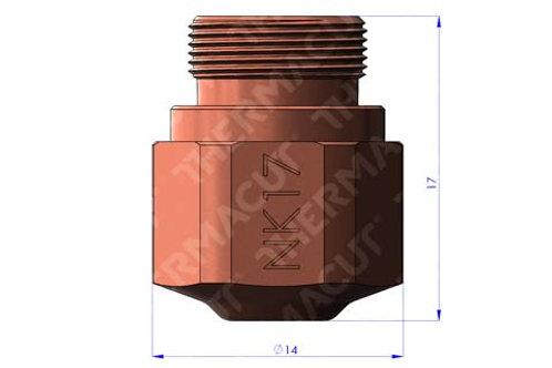 NK 17 Düse Durchmesser 1.75 mm für Stahl 15 mm