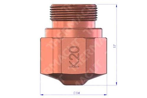 K 20 Düse Durchmesser 2.0 mm