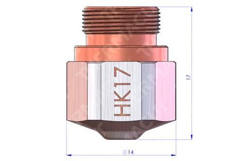 HK 17 Düse Durchmesser 1.75 mm Hartchrom