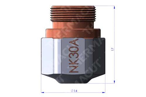 NK 30A Düse Durchmesser 3.0 mm Hartchrom