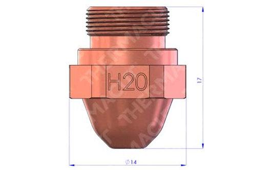 H 20 Düse Durchmesser 2.0 mm