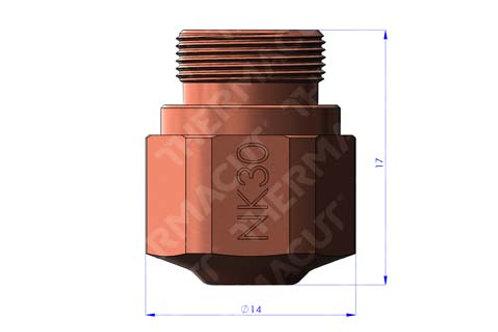 NK 30 Düse Durchmesser 3.0 mm für Stahl 25 mm