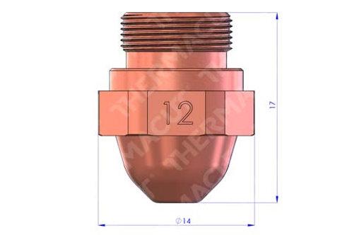 Kopie von 12 Düse Durchmesser 1.2 mm