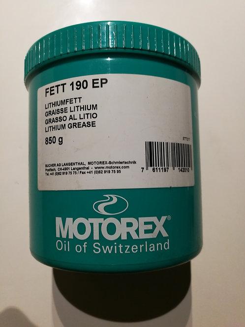Fett KP2K Motorex Dose
