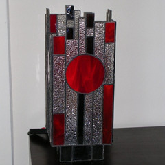 Art-deco lamp