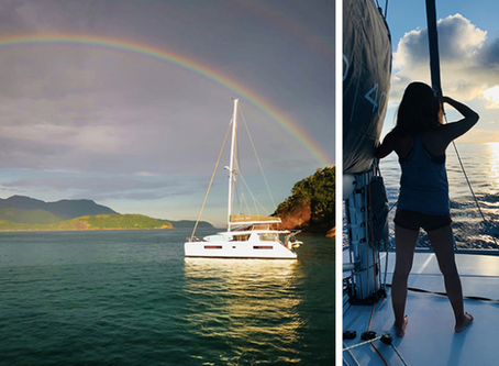 【Leopard Catamarans】海上驚喜-月虹